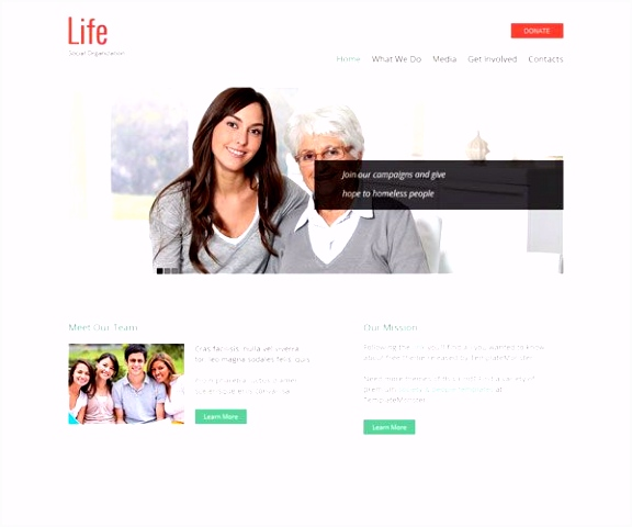 8 Free Charity HTML Website Templates