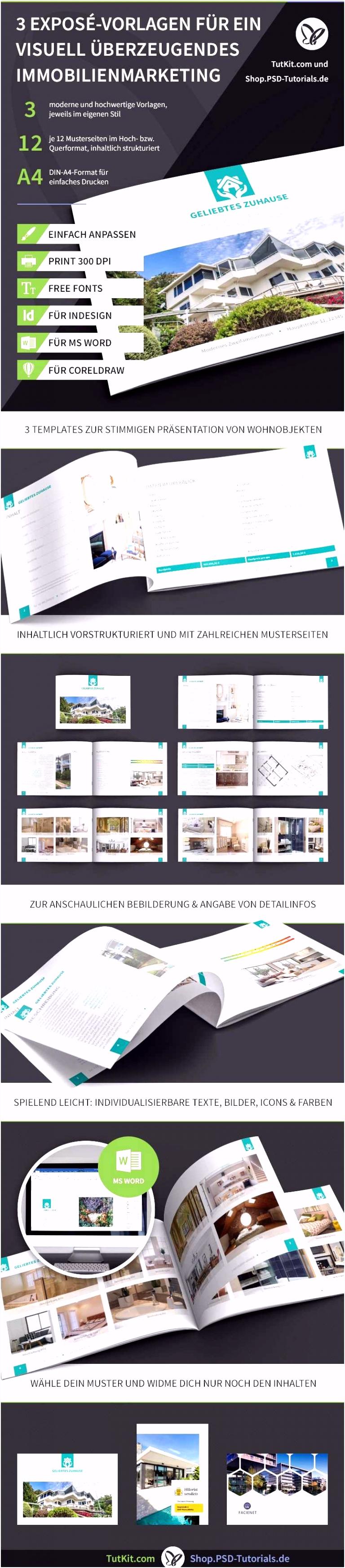 25 Frisch Immobilien Expose Vorlage Word