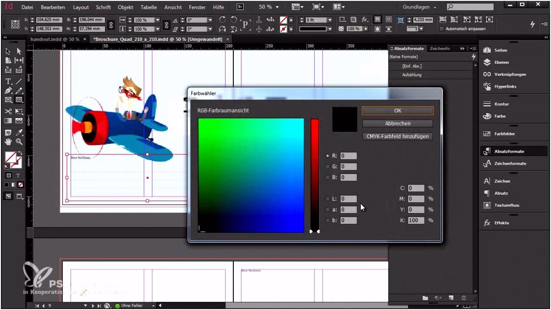 Video Tutorial Wie gestalte ich eine Broschüre in InDesign
