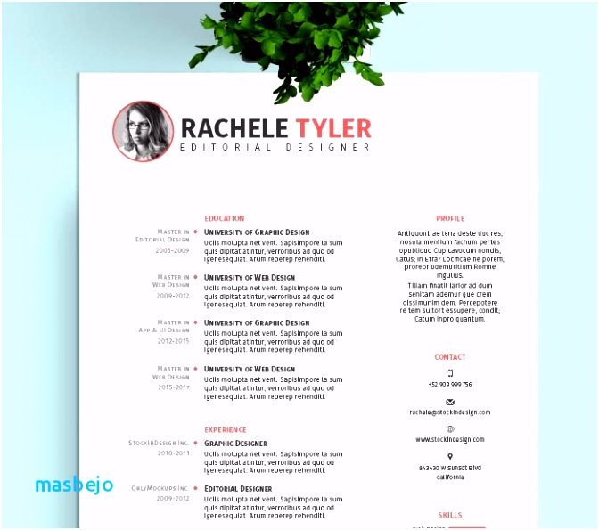 Indesign Resume Templates Elegant Free Indesign Newsletter Template