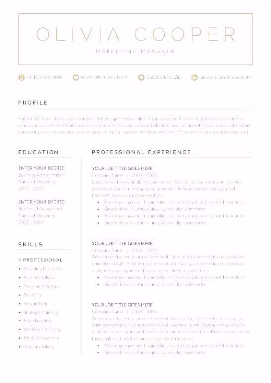 Cv Eu format Template Download Luxury Collection Free Resume