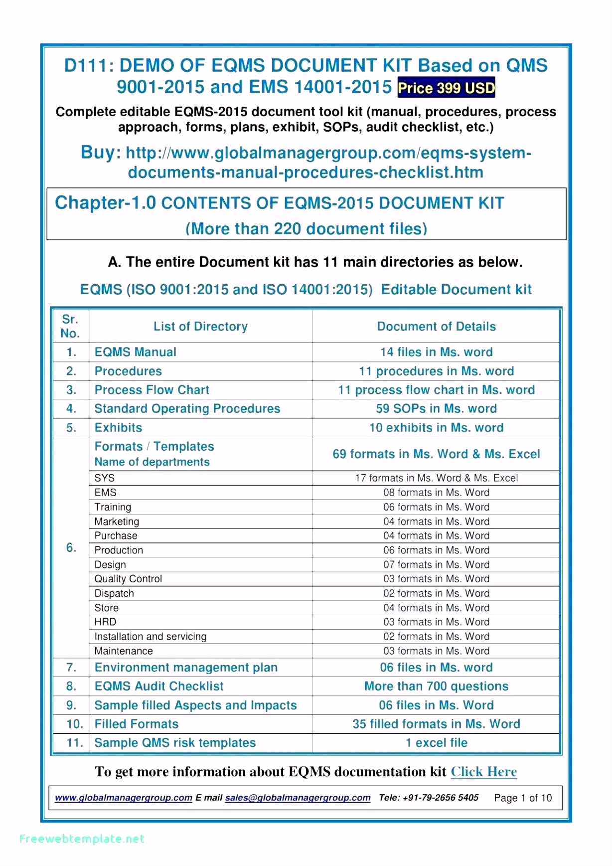 Iso 9001 2015 Checklist Excel Template Glendale munity Document