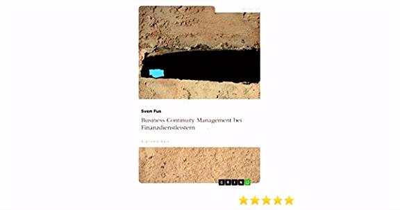 Business Continuity Management bei Finanz nstleistern eBook Sven