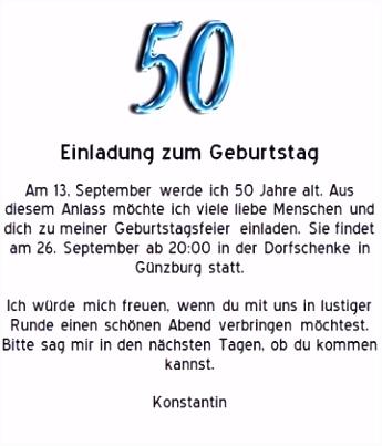 Die Erstaunliche Einladung Zum 50 Geburtstag Vorlagen Kostenlos