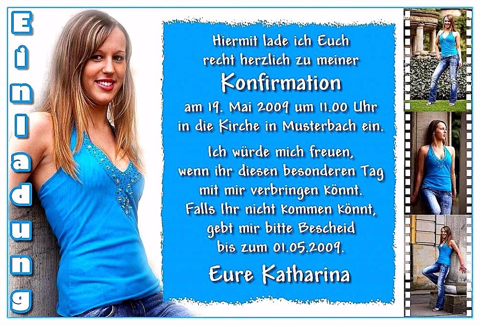 Coole Einladung Zur Konfirmation Coole Einladung Zur Konfirmation