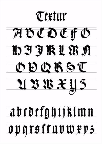 Kalligraphie Vorlagen Gratis Schrift Einfuehrungm