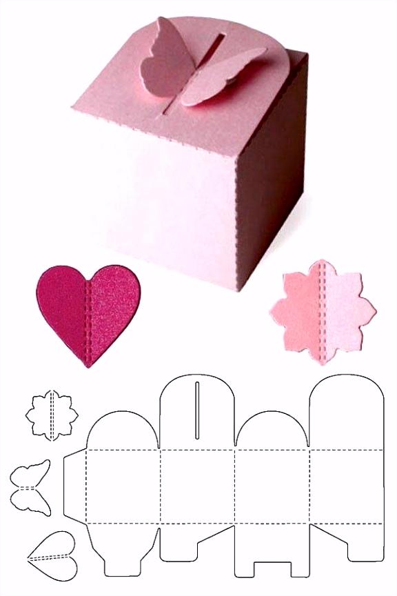 Schachteln Basteln Vorlagen