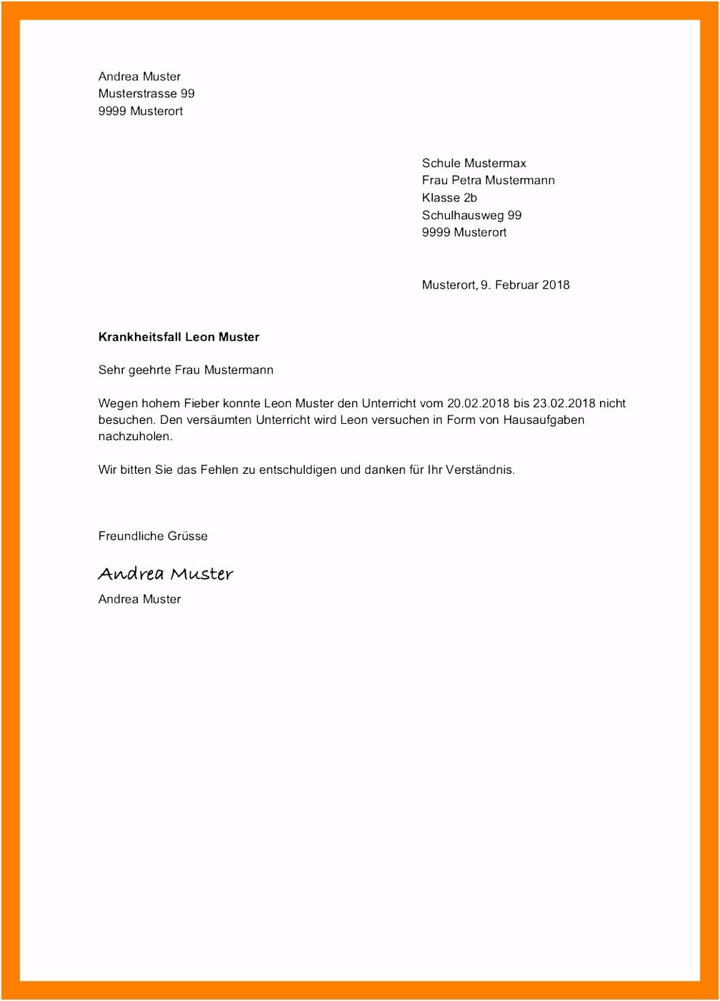 Entschuldigungsbrief Vorlage Schule duathlonwa