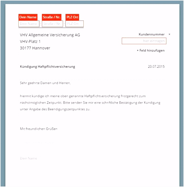 Kundigung Handyvertrag Todesfall Muster 677 685 Vhv