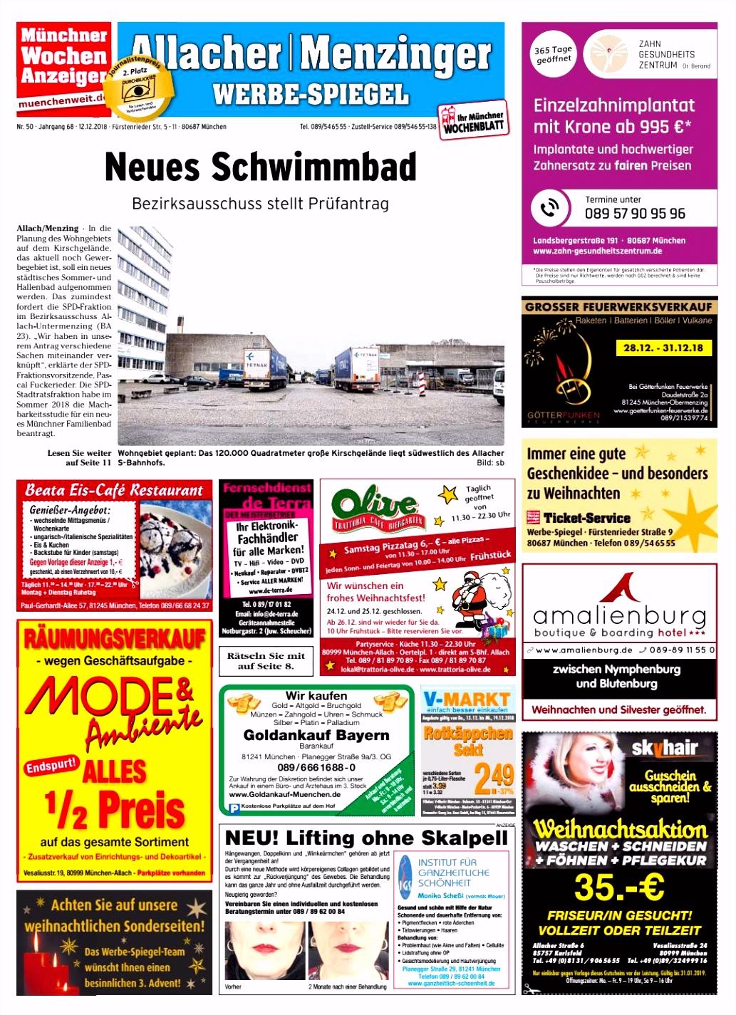 KW 50 2018 by Wochenanzeiger Me n GmbH issuu