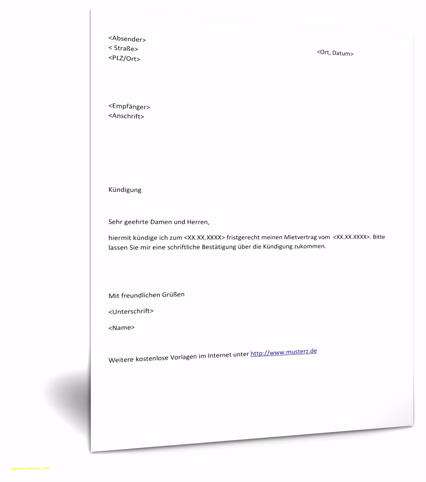 Mietvertrag Haus Und Grund Kostenlos Word