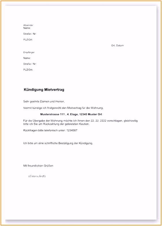 10 vodafone kündigung muster pdf