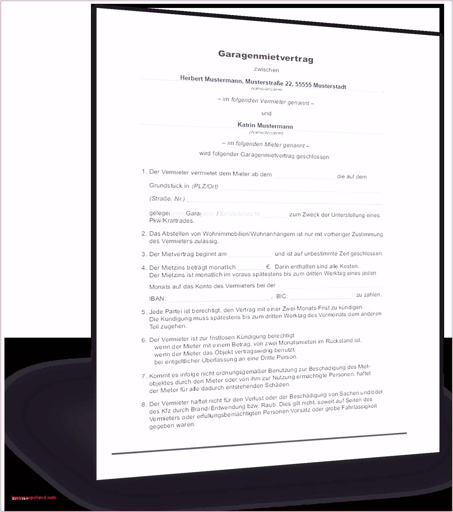 Vereinbarung Nachmieter Elegant Fristlose Kundigung Vorlage
