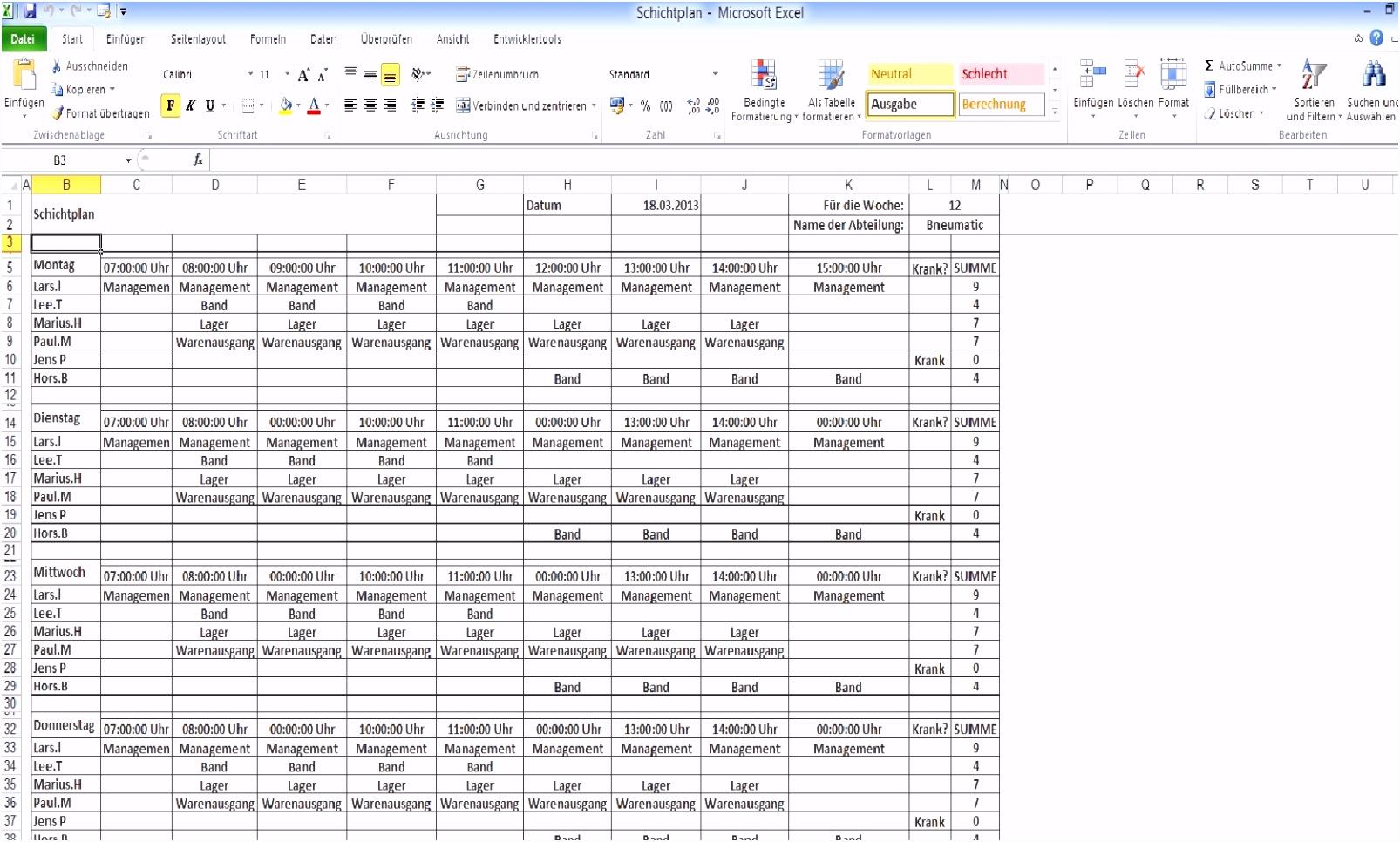 Kundendatenbank Excel Vorlage