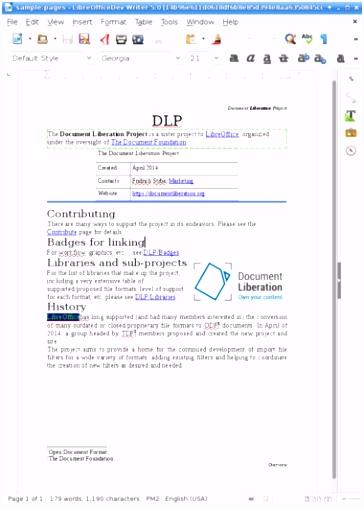 libreoffice website design neuerungen und vernderungen in