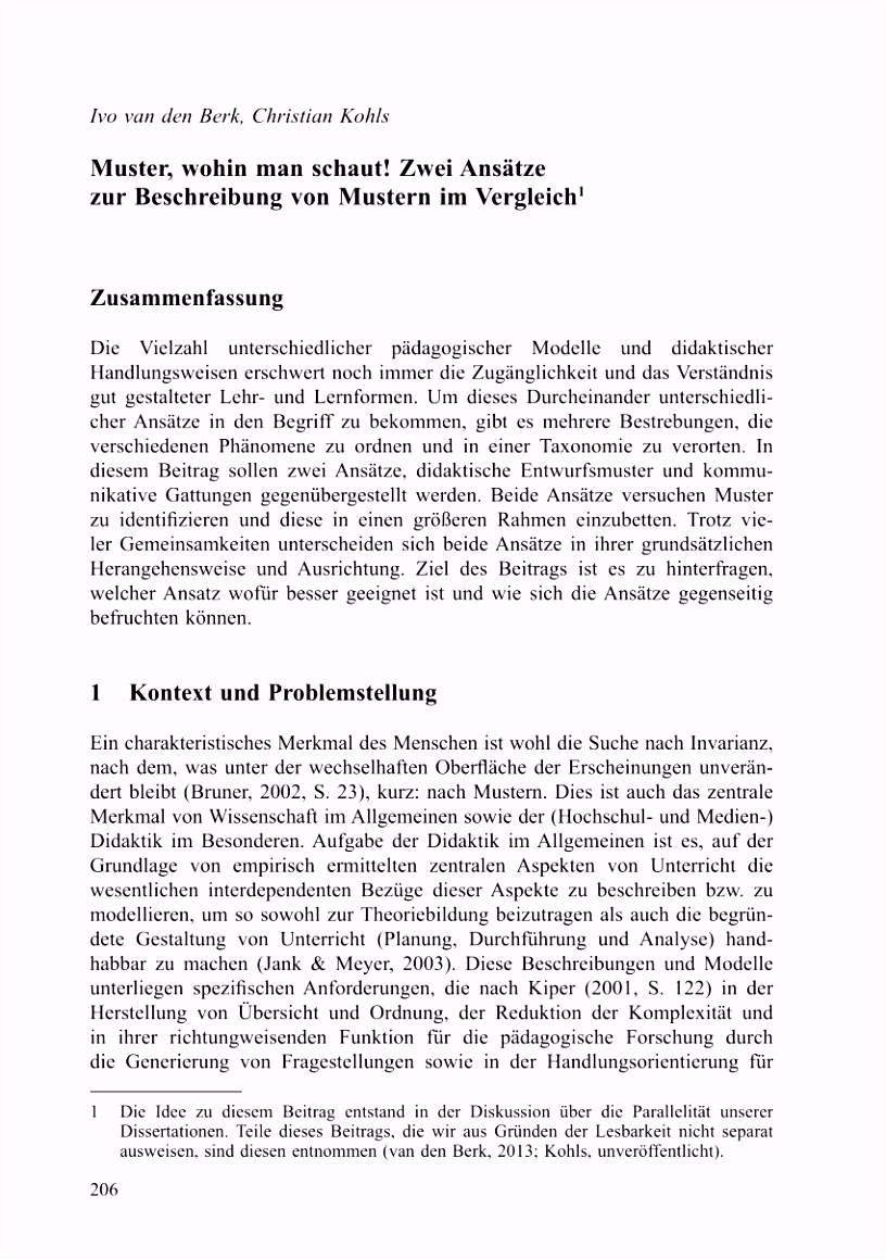 PDF Bewerbungsgespräche mit Ost und Westdeutschen Eine