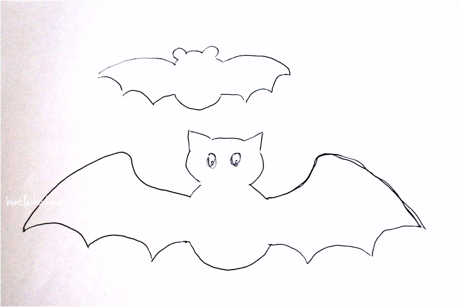 Halloween Bilder Zum Ausmalen Fledermaus Ebenbild Fledermaus Vorlage