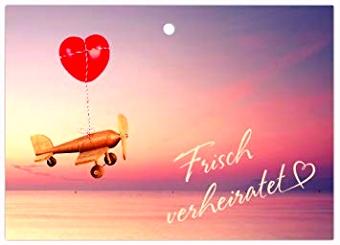 Ballonflugkarten Hochzeit Luftballonkarten für Wünsche an das