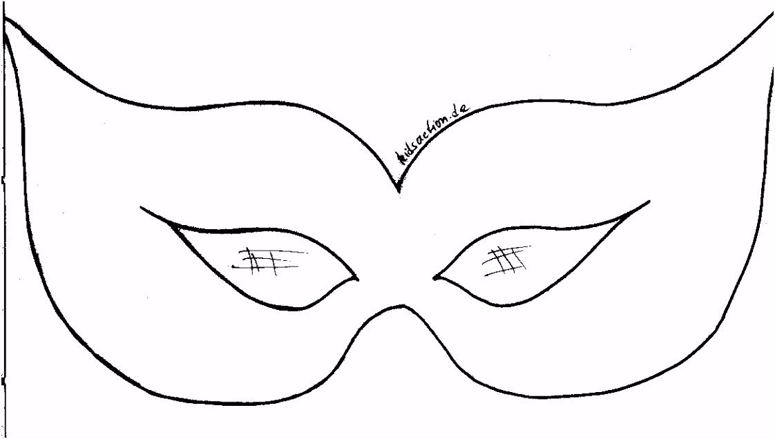Inspirierende Venezianische Masken Vorlagen Zum Ausdrucken