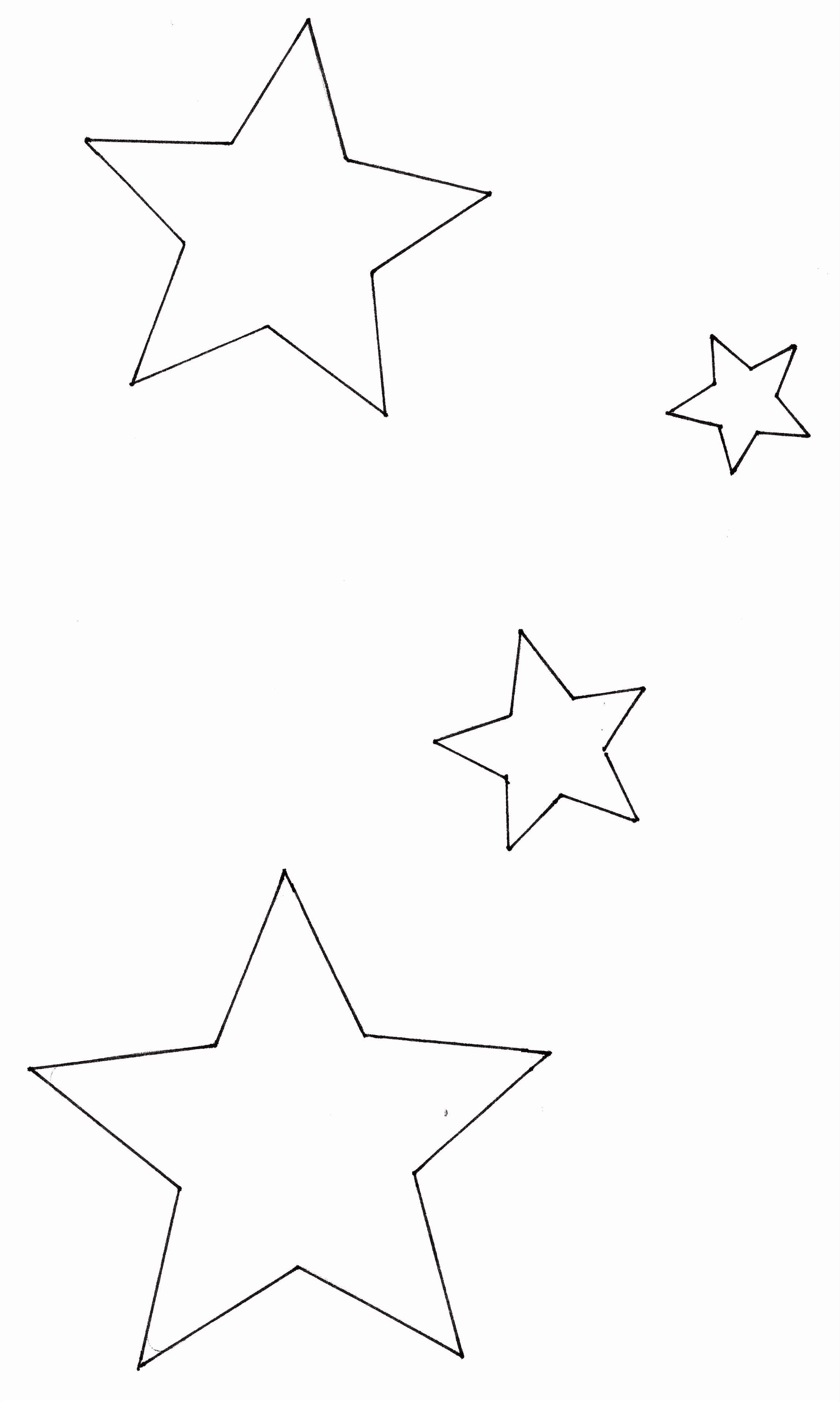 25 Druckbare Vorlage Stern Zum Ausdrucken