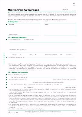 """Mietvertrag Rnk Verlag Sammlungen Von Rnk Verlag Vordruck """"vertrag"""