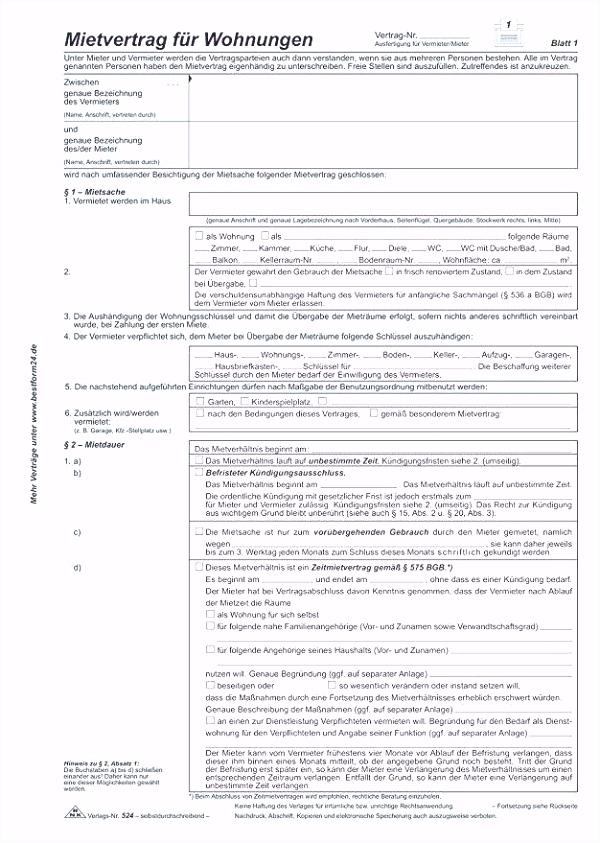 Kündigung Muster Wohnung Neues Kündigung Mietvertrag Vorlage Zum
