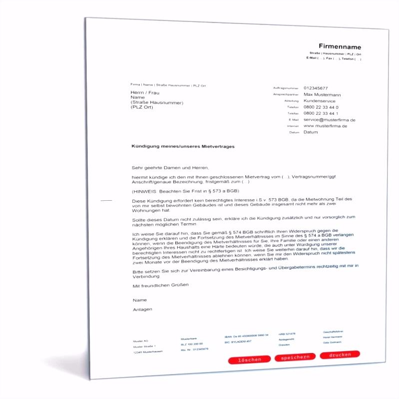 Dekoration Kreativ Lustig Kündigung Mietvertrag Per Email Höchste