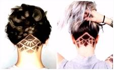 Die 53 besten Bilder von Haar tattoos