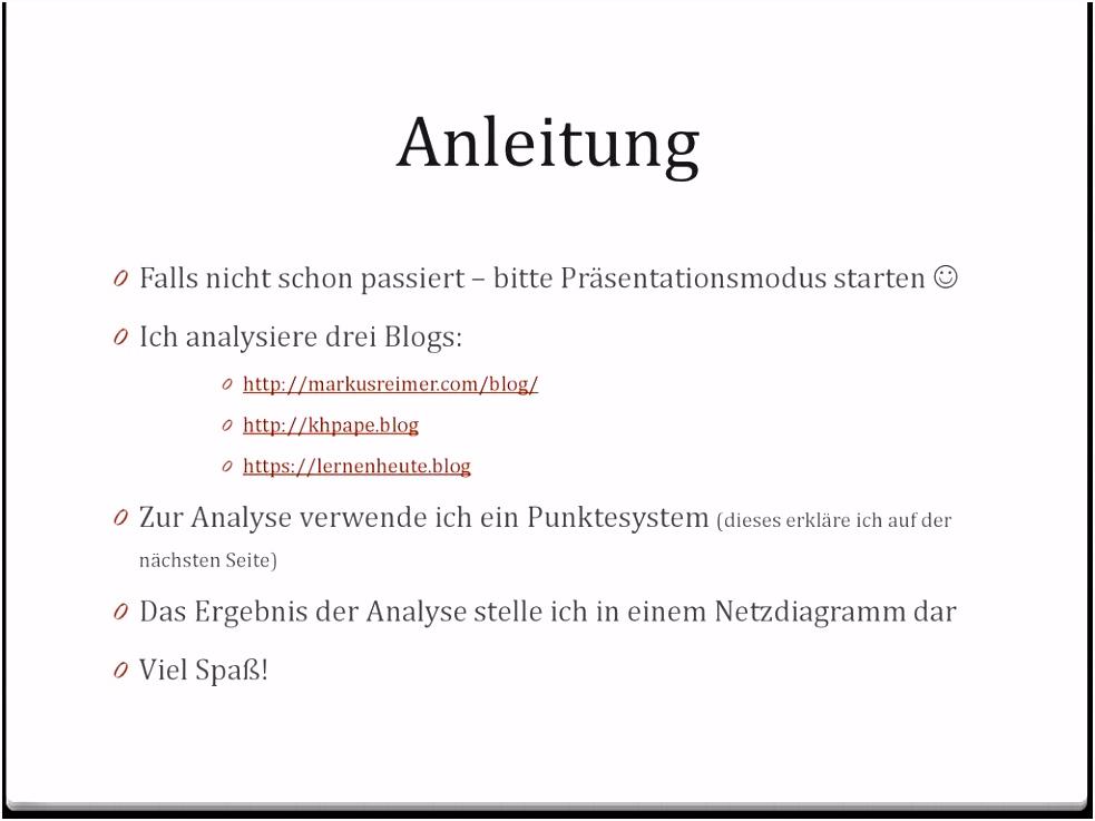 """Netzdiagramm Powerpoint Vorlage Analyse Von Drei """"wissensblogs"""" Ppt Herunterladen Y5wm66bnr3 Xvohmmwac4"""