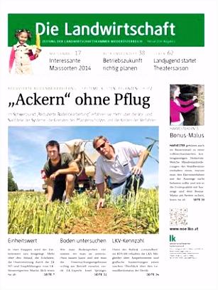 Die Landwirtschaft Februar 2014 by Landwirtschaftskammer N– issuu