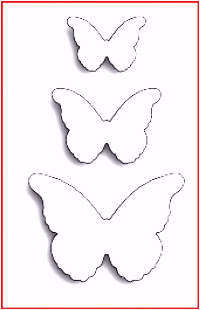 Die Erstaunliche Schmetterling Vorlage Zum Ausdrucken