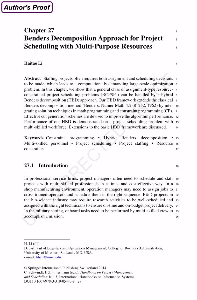 PDF A De position Approach for Shipboard Manpower Scheduling