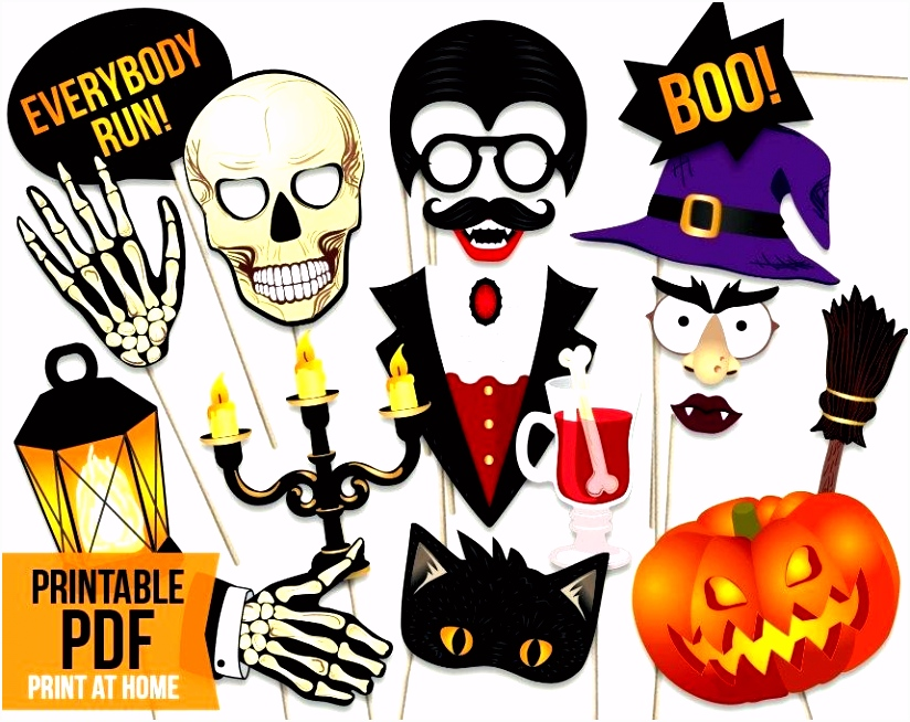 Free Printable Booth Props Perfect For Parties Halloween