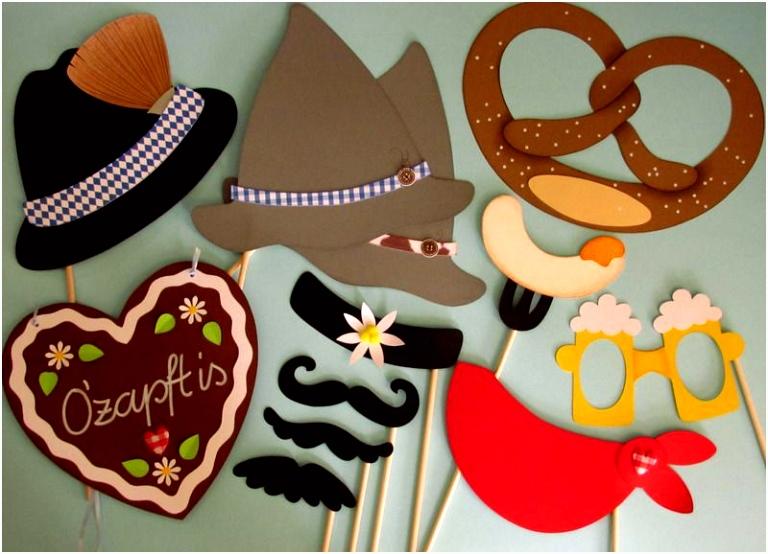 """Booth """"Oktoberfest"""" Foto Accessoires von Piratenbraut auf"""