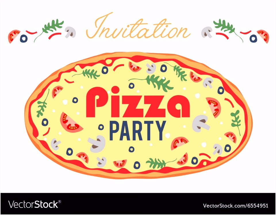 pizza party flyer Antal expolicenciaslatam