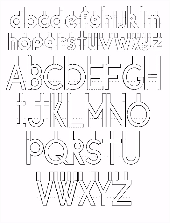 pop up letters Typo