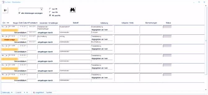 Postausgangsbuch Vorlage Excel Elegant Postbuch Download Vorlage