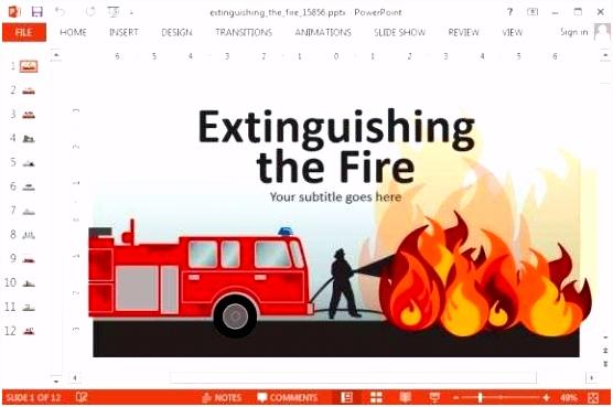 Powerpoint Feuerwehr Vorlage