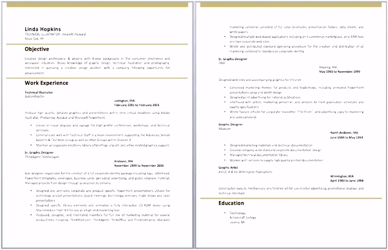 Resume for Education Examples Artist Resume Template Graphic Design
