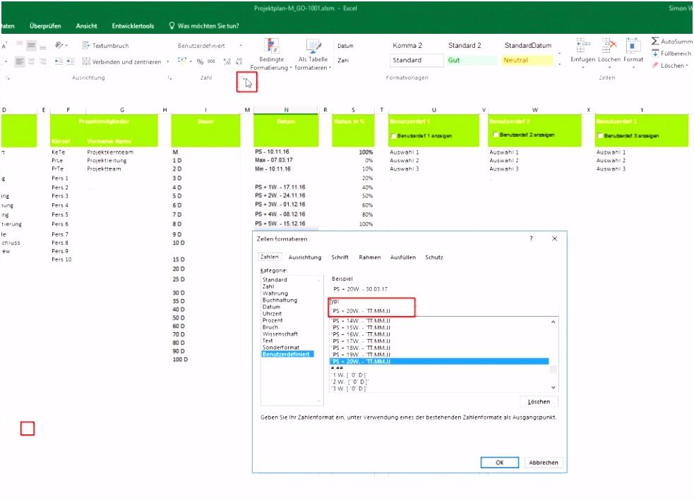 59 Beste Projektplan Excel Vorlage Beschreibung