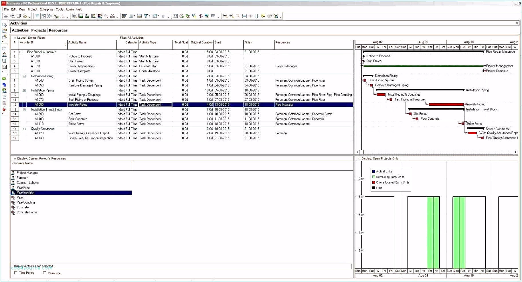 Project Business Case Template Excel Paramythia Docs