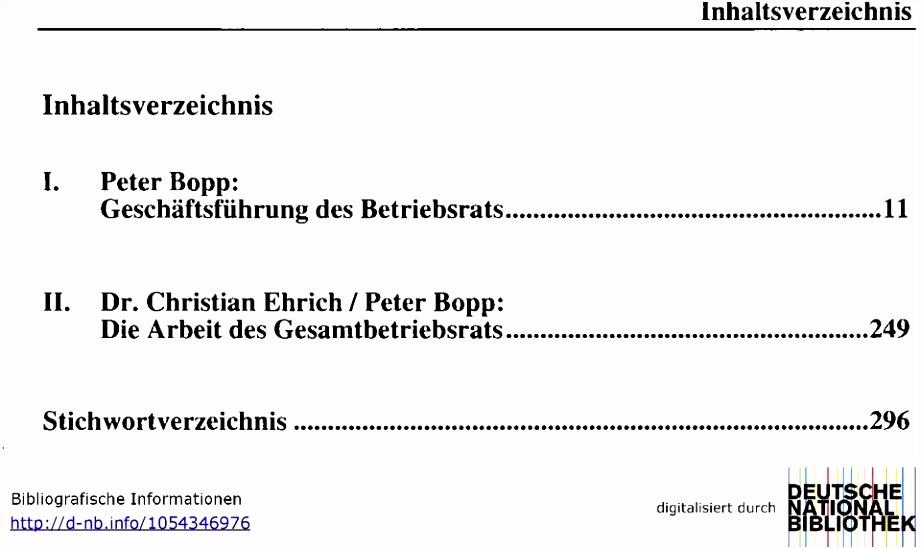 Protokoll Konstituierende Sitzung Betriebsrat Muster I Peter Bopp