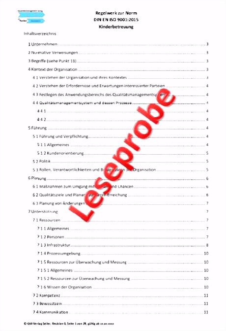 Qualitatsziele iso 9001 Vorlage Musterhandbuch Kindergarten Nach Din En iso 9001 2008 M8hg93yoe3 Auiu5mbeu5