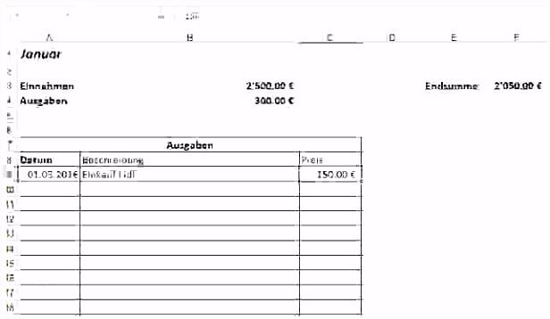15 einnahmen ausgaben rechnung excel vorlage
