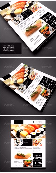 27 Best flyer menu images