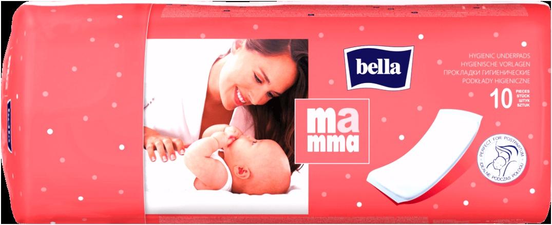 Bella Mamma Wöchnerinnen Vorlagen Vlieswindeln 34x12 cm 10 St