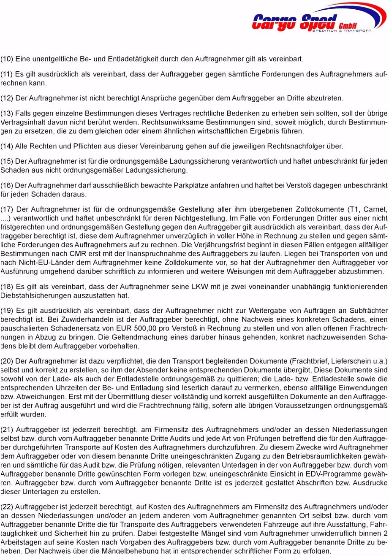 Schriftliche Beauftragung Ladungssicherung Vorlage Geschäftsbedingungen Auftragsbedingungen Der Cargo Sped Gmbh Pdf Y8uk43vlq8 W2rehvzve4
