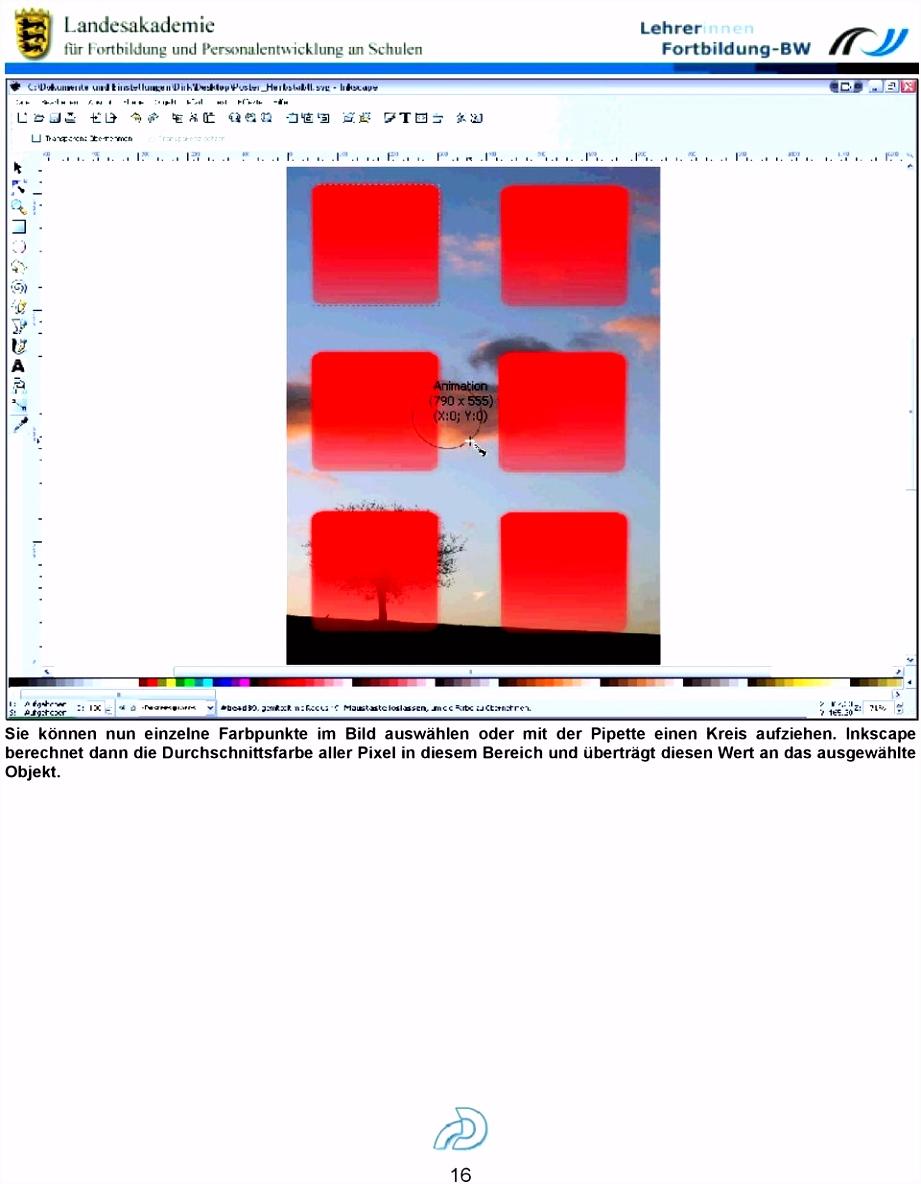 Ein Poster mit Inkscape PDF