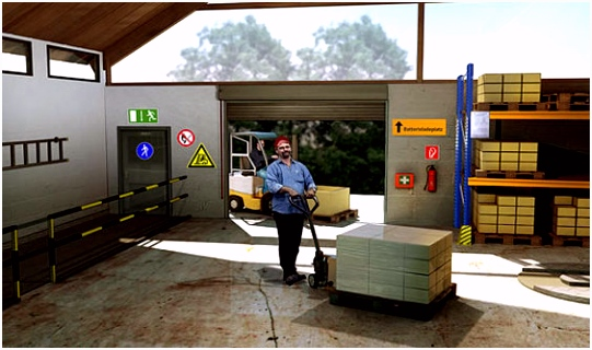 Lager Logistik Transportieren BGW online