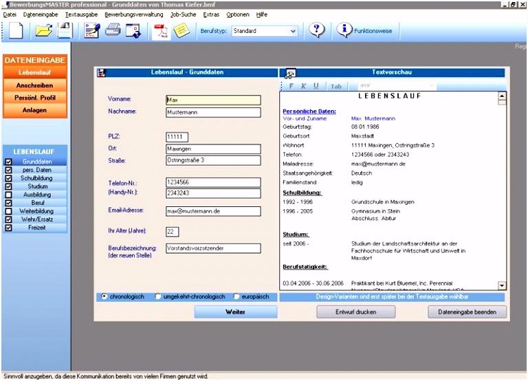 Bewerbung Software software test vorlage luxus bewerbung als